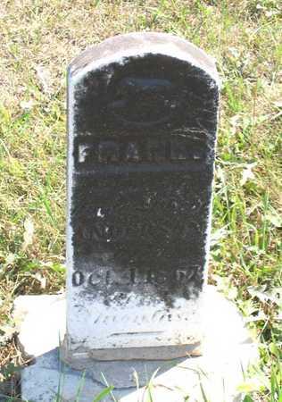 ANDERSON, FRANK - Benton County, Iowa | FRANK ANDERSON