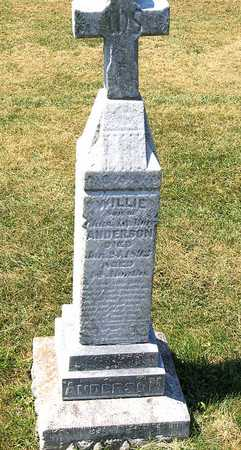 ANDERSON, WILLIE - Benton County, Iowa | WILLIE ANDERSON