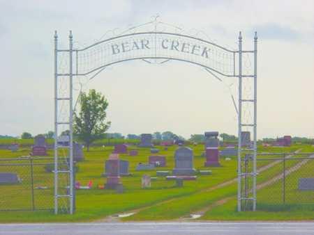 BEAR CREEK, CEMETERY - Benton County, Iowa | CEMETERY BEAR CREEK