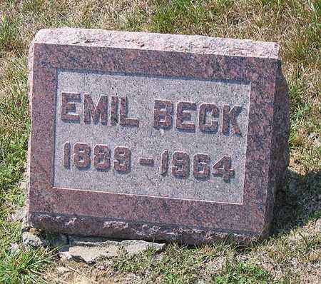 BECK, EMIL - Benton County, Iowa | EMIL BECK