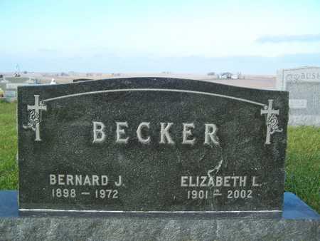 BECKER, ELIZABETH - Benton County, Iowa   ELIZABETH BECKER