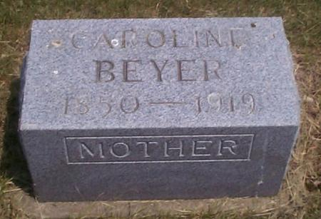 BEYER, CAROLINE - Benton County, Iowa | CAROLINE BEYER