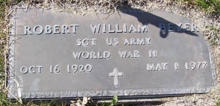 BEYER, ROBERT WILLIAM - Benton County, Iowa   ROBERT WILLIAM BEYER