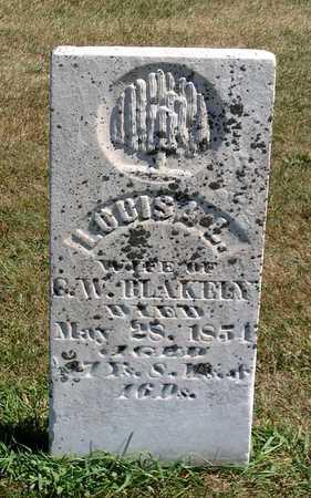 BLAKELY, LOUISA L. - Benton County, Iowa   LOUISA L. BLAKELY