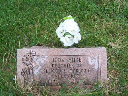 BODDICKER, JODY ANNE - Benton County, Iowa | JODY ANNE BODDICKER