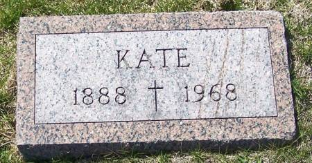 BODDICKER, KATE - Benton County, Iowa | KATE BODDICKER