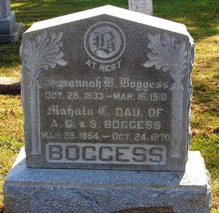 BOGGESS, MAHALA C. - Benton County, Iowa | MAHALA C. BOGGESS