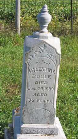 BOGLE, VALENTINE - Benton County, Iowa | VALENTINE BOGLE