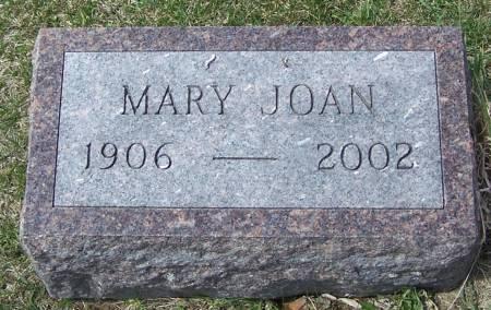 BOLAND, MARY JOAN - Benton County, Iowa | MARY JOAN BOLAND