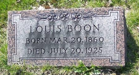 BOON, LOUIS - Benton County, Iowa | LOUIS BOON