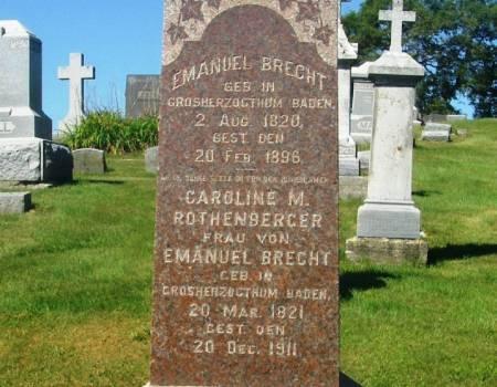 BRECHT, EMANUEL - Benton County, Iowa | EMANUEL BRECHT