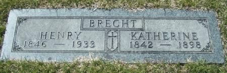 BRECHT, HENRY - Benton County, Iowa   HENRY BRECHT