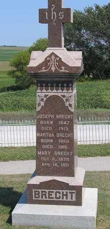 BRECHT, MARY - Benton County, Iowa | MARY BRECHT
