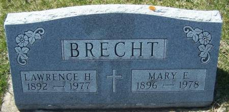 BRECHT, LAWRENCE H - Benton County, Iowa | LAWRENCE H BRECHT
