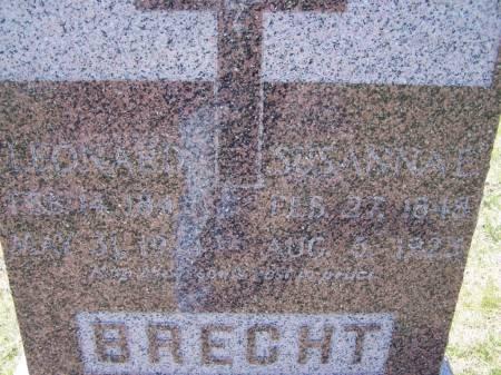 BRECHT, LEONARD - Benton County, Iowa | LEONARD BRECHT
