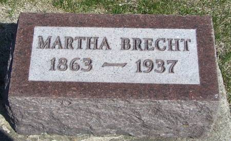 BRECHT, MARTHA - Benton County, Iowa | MARTHA BRECHT