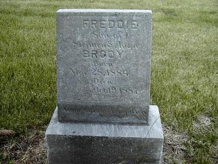 BRODY, FREDDIE - Benton County, Iowa   FREDDIE BRODY