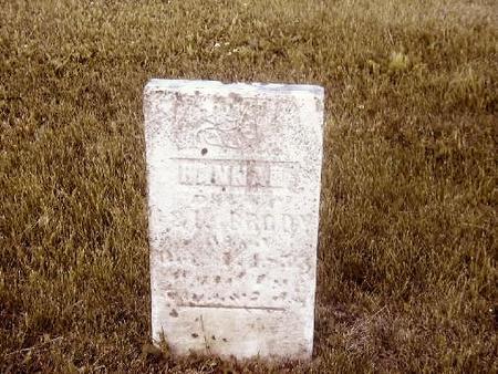 BRODY, HANNAH - Benton County, Iowa | HANNAH BRODY