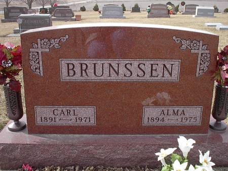 BRUNSSEN, CARL - Benton County, Iowa | CARL BRUNSSEN