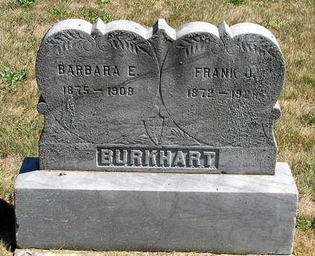 BURKHART, BARBARA E. - Benton County, Iowa | BARBARA E. BURKHART