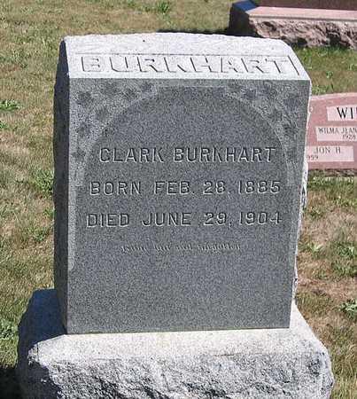 BURKHART, CLARK - Benton County, Iowa | CLARK BURKHART