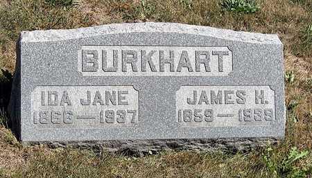BURKHART, IDA JANE - Benton County, Iowa   IDA JANE BURKHART
