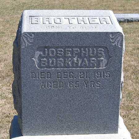 BURKHART, JOSEPHUS - Benton County, Iowa   JOSEPHUS BURKHART
