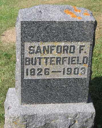 BUTTERFIELD, SANFORD F. - Benton County, Iowa | SANFORD F. BUTTERFIELD
