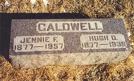 CALDWELL, HUGH D. - Benton County, Iowa   HUGH D. CALDWELL