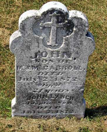 CARROLL, JOHN - Benton County, Iowa | JOHN CARROLL