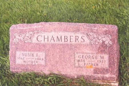 CHAMBERS, GEORGE AND SUSAN - Benton County, Iowa | GEORGE AND SUSAN CHAMBERS