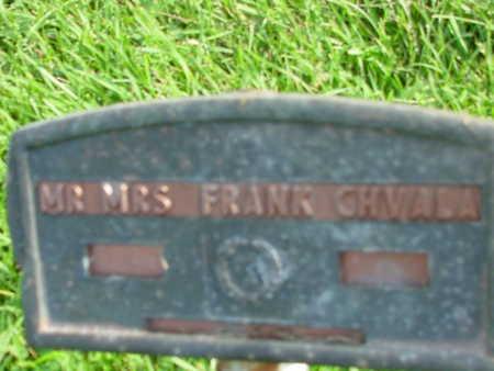 CHVALA, FRANK - Benton County, Iowa | FRANK CHVALA