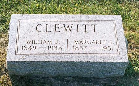 RICKERT CLEWITT, MARGARET JANE - Benton County, Iowa | MARGARET JANE RICKERT CLEWITT