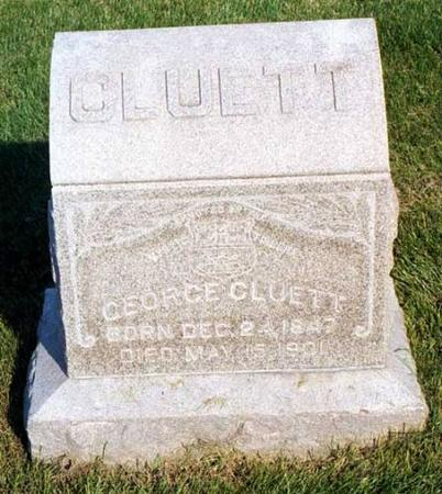 CLUETT, GEORGE - Benton County, Iowa | GEORGE CLUETT