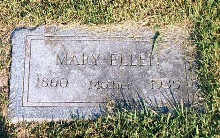 CLUETT, MARY ELLEN - Benton County, Iowa | MARY ELLEN CLUETT