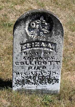 COLLICOTT, ELIZA A. - Benton County, Iowa | ELIZA A. COLLICOTT