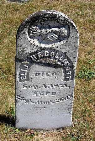 COLLICOTT, ELIJAH F. - Benton County, Iowa | ELIJAH F. COLLICOTT