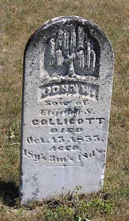 COLLICOTT, JOHN W. - Benton County, Iowa | JOHN W. COLLICOTT