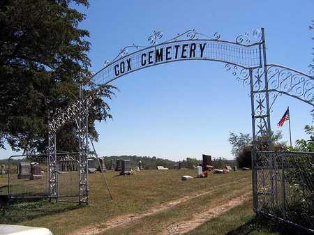 COX, CEMETERY - Benton County, Iowa   CEMETERY COX