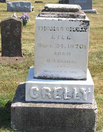 CRELLY, THOMAS - Benton County, Iowa   THOMAS CRELLY