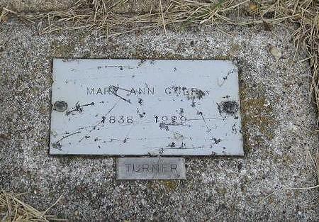 CULP, MARY ANN - Benton County, Iowa | MARY ANN CULP