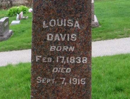 DAVIS, LOUISA - Benton County, Iowa | LOUISA DAVIS