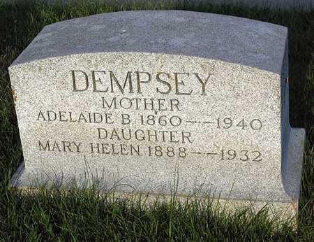 DEMPSEY, MARY HELEN - Benton County, Iowa | MARY HELEN DEMPSEY