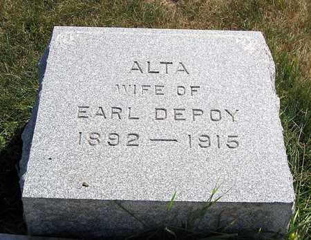 DEPOY, ALTA - Benton County, Iowa | ALTA DEPOY