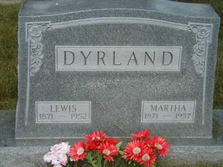 DYRLAND, LEWIS - Benton County, Iowa   LEWIS DYRLAND