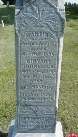 DYRLAND, BEN MANDIUS - Benton County, Iowa   BEN MANDIUS DYRLAND