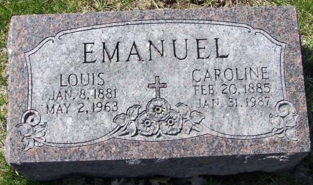 EMANUEL, LOUIS - Benton County, Iowa | LOUIS EMANUEL