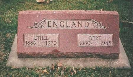 ENGLAND, BERT - Benton County, Iowa | BERT ENGLAND