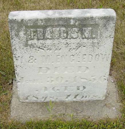 ENGLEDOW, FRANCIS - Benton County, Iowa | FRANCIS ENGLEDOW