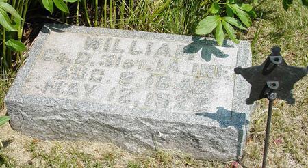ENGLEDOW, WILLIAM - Benton County, Iowa | WILLIAM ENGLEDOW